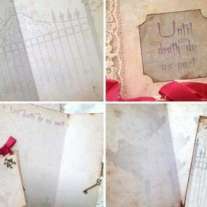 Halloween Guestbook - Haunted house..