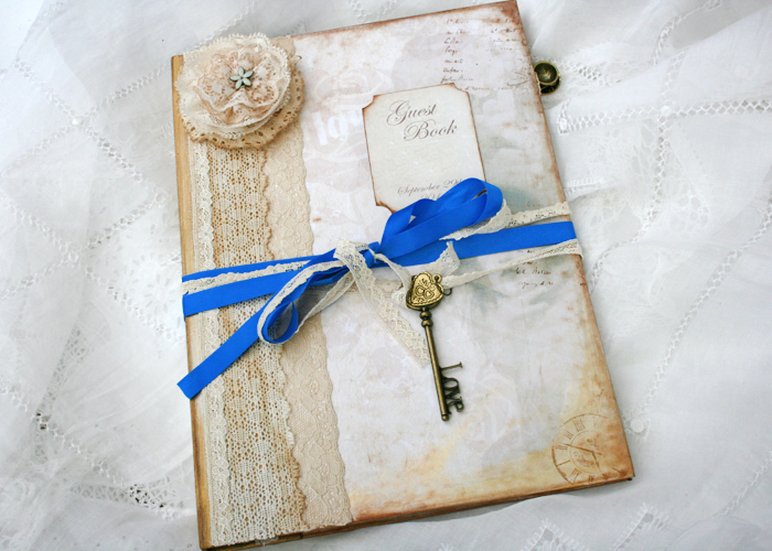 Beauty And The Beast Themed Wedding Guest Book On Luulla