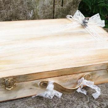 Wedding Keepsake suitcase box