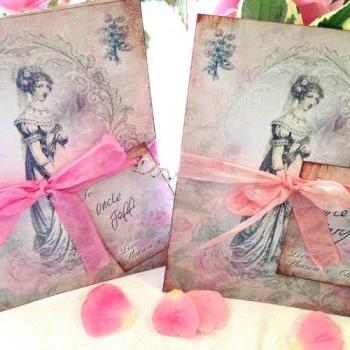 Jane Austin themed Wedding Invitation